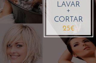 Lavar + Cortar…